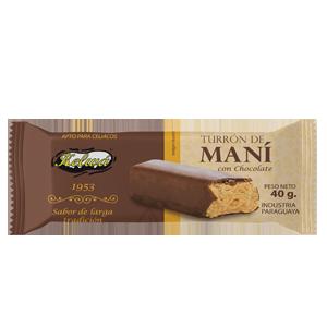 turron con chocolate